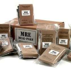 a pack MRE